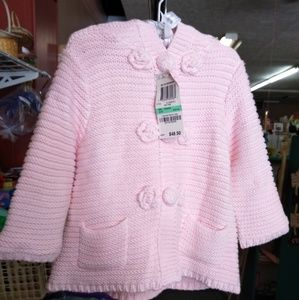 NWT!! First Impressions Sweater Jacket